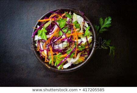 свежие · зрелый · морковь · изолированный · белый · продовольствие - Сток-фото © tatik22