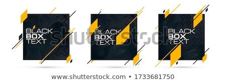 Grafikus elrendezés térkép mutat irányok üzlet Stock fotó © bluering