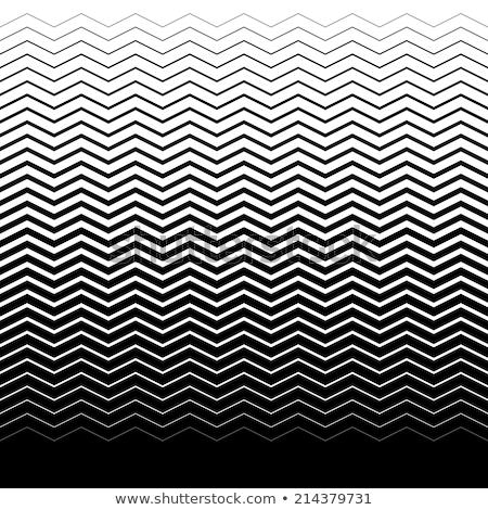 ストックフォト: シームレス · 幾何学模様 · レトロな · 緑 · グレー · パターン