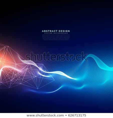 drótváz · háló · absztrakt · mérnöki - stock fotó © sarts