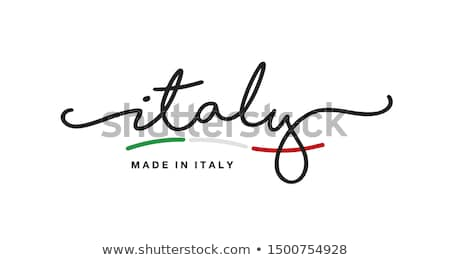 İtalya örnek İtalyan yalıtılmış gökyüzü arka plan Stok fotoğraf © ajlber