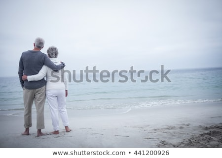 Couple standing together on a sunny day Stock photo © wavebreak_media