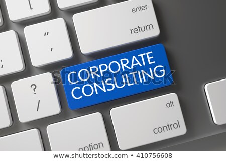 Corporate Consulting CloseUp of Keyboard. Stock photo © tashatuvango