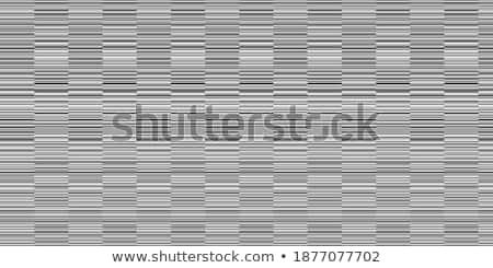 geometric black verticle and horizontal lines pattern design Stock photo © SArts