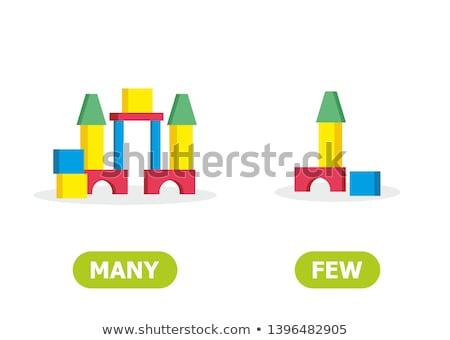 many blocks game Stock photo © Olena