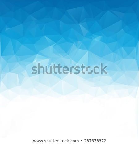 üçgen · biçim · afiş · şablon · vektör · sanat - stok fotoğraf © robuart