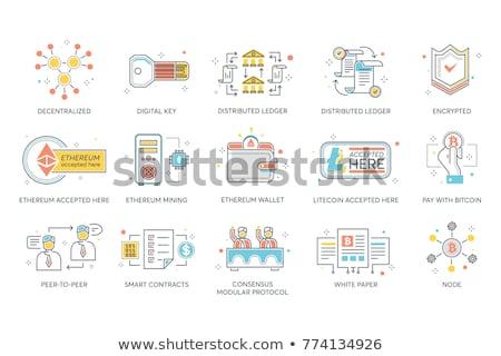 titkosítás · tiszt · adminisztrátor · készít · algoritmus · kód - stock fotó © smoki