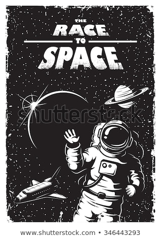 rocket science space voyager theme vector Stock photo © vector1st