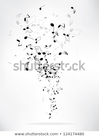 Muziek merkt partij lichten schitteren poster evenement Stockfoto © alexaldo