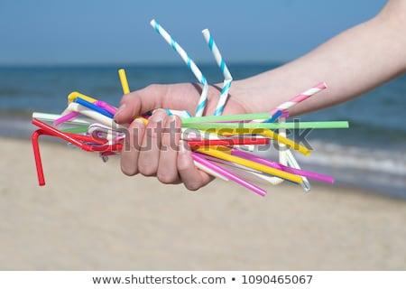 Plastic Straws Stock photo © Lightsource