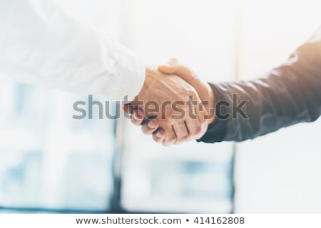 imagen · apretón · de · manos · exitoso · empresarios · buena · acuerdo - foto stock © Freedomz