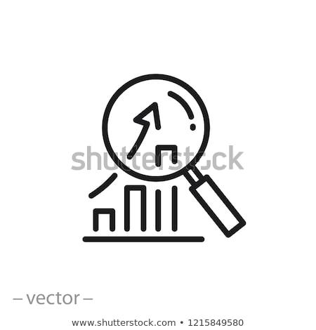 Economisch ontwikkeling megafoon groei kolom markt Stockfoto © RAStudio