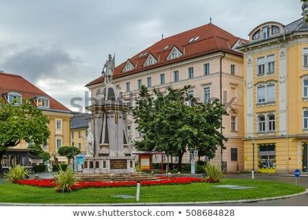 Австрия квадратный здании город лет путешествия Сток-фото © borisb17