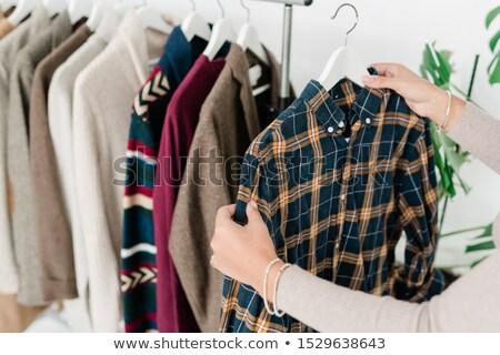 színes · pamut · póló · póló · minta · kozmetika - stock fotó © pressmaster