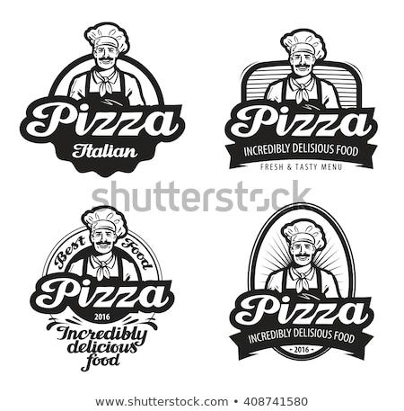 pizzacı · harika · Bina · soba · sokak - stok fotoğraf © robuart