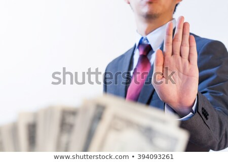 Bribery And Politics Stock photo © Lightsource