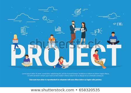 Idea management concept vector illustration. Stock photo © RAStudio