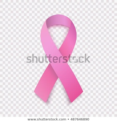 Brustkrebs Bewusstsein hat isoliert weiß Stock foto © kyryloff