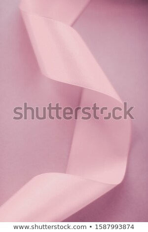 Abstract silk ribbon on blush pink background, exclusive luxury  Stock photo © Anneleven