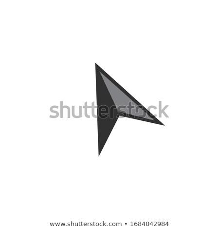 Cursor icon website ontwerp logo app Stockfoto © kyryloff