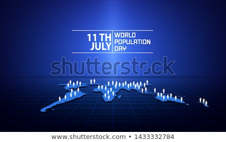 Population growth abstract concept vector illustration. Stock photo © RAStudio
