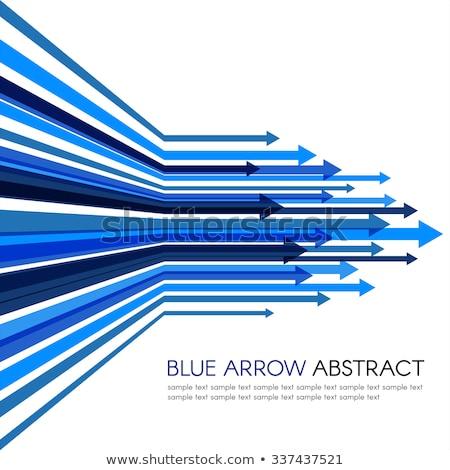 синий Стрелки движущихся вперед цвета Сток-фото © SArts