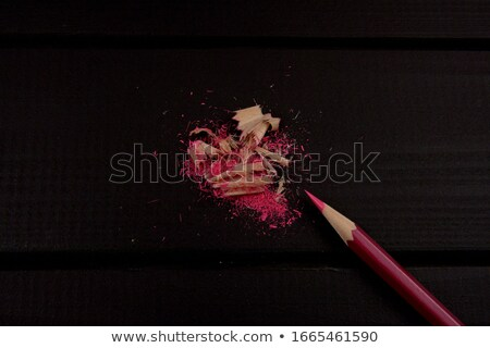Puntenslijper vers hout ontwerp trekken schrijver Stockfoto © fxegs