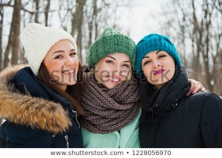 холодно женщину медицинской портрет подростков Сток-фото © dacasdo