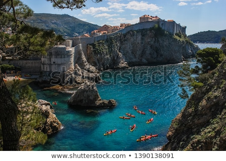 Stock photo: dubrovnik bay
