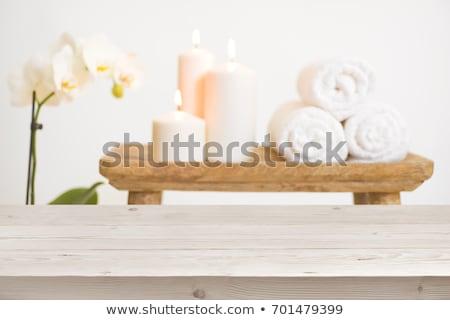 Foto stock: Estância · termal · exibir · banheiro · luz · casa · relaxar