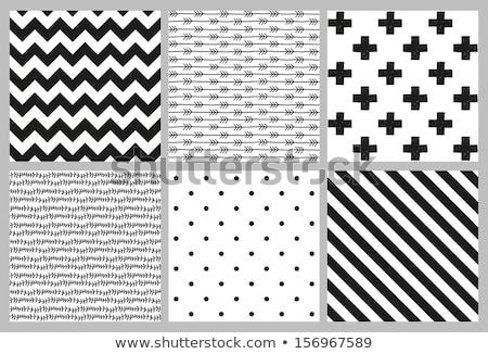 Grunge muro bianco piastrelle nero diagonale Foto d'archivio © Melvin07