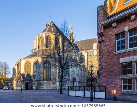 Old church in Alkmaar, Holland stock photo © duoduo
