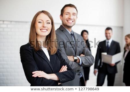 Stock fotó: œzleti · férfiak · és · nÅ'k · csoportja