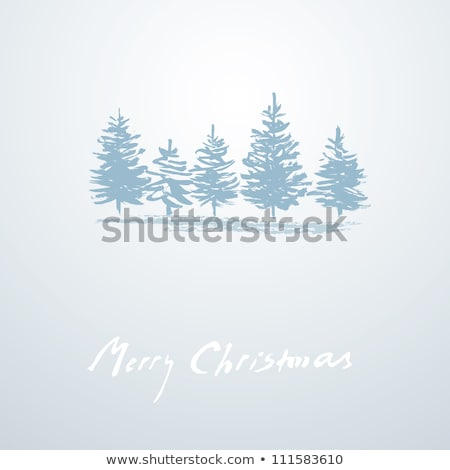 Simple vector grunge Navidad decoración Foto stock © orson