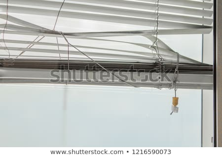 Old Window Blinds Stock photo © searagen