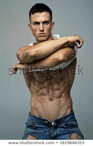 body in underwear and jeans stock photo © ssuaphoto