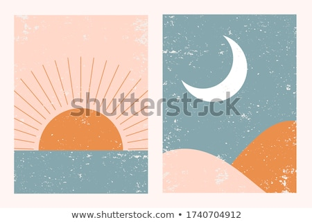 Abstract sun Stock photo © Losswen