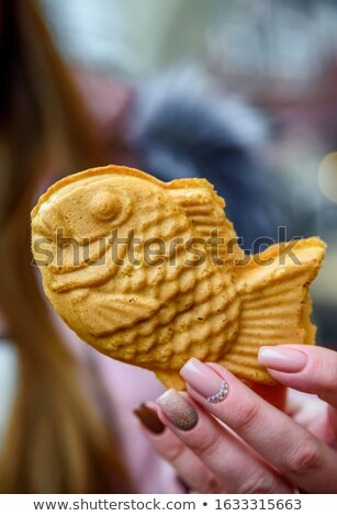 Japanese traditional food Taiyaki Stock photo © yoshiyayo