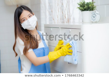 Stock photo: housemaids