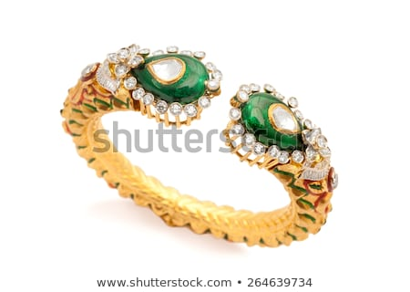 bracelet with color gems Stock photo © olira