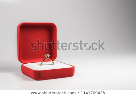 кольца окна сердце свадьба Сток-фото © timurock
