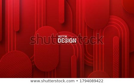 抽象的な 幾何学的な 3D ベクトル 背景 画面 ストックフォト © alvaroc