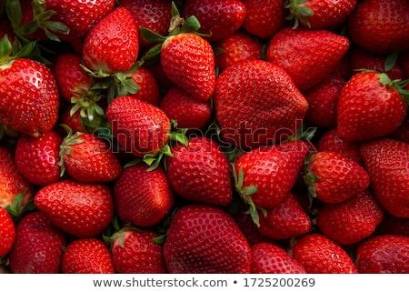 close up of strawberry  stock photo © yoshiyayo