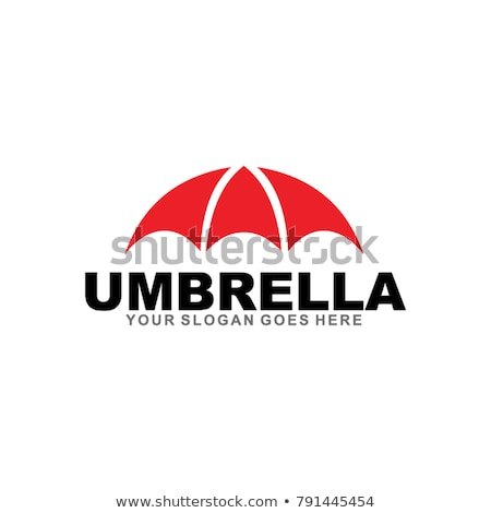 abstract umbrella icon  Stock photo © pathakdesigner