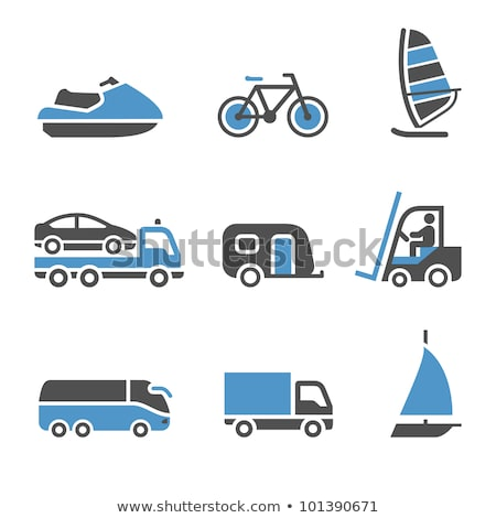 Transport Icons - A set of third stock photo © Ecelop