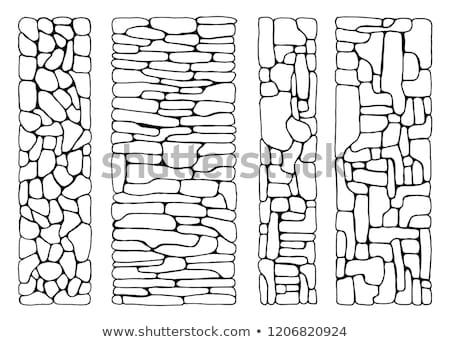 石 エンドレス テクスチャ 壁 デザイン スペース ストックフォト © pinkblue