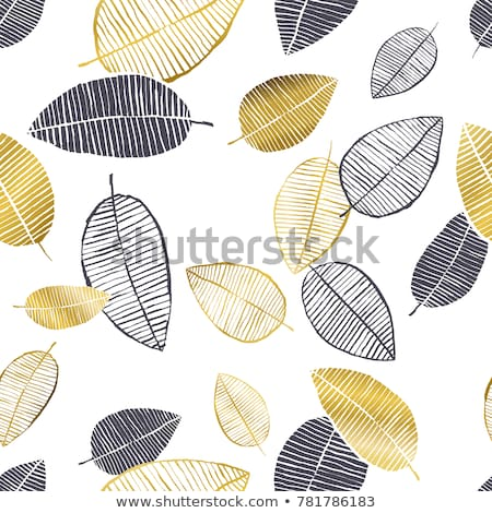 Gold doodle hand-made abstract background Stock photo © gladiolus