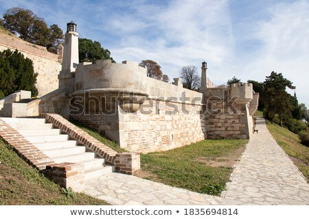 подробность форт стен известный ориентир Белград Сток-фото © vaximilian