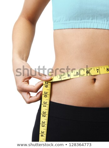 measure waistline on scale stock photo © sumners
