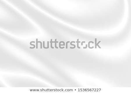 白 · 抽象的な · ソフト · 波状の · 壁 - ストックフォト © monarx3d
